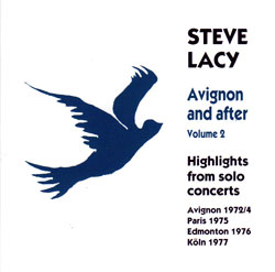 Lacy, Steve: Avignon and After - 2 (1972-7) Volume 2