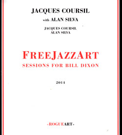 Coursil, Jacques with Alan Silva: FreeJazzArt (RogueArt)