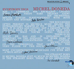 Michel Doneda: Everybody Digs Michel Doneda (Relative Pitch)