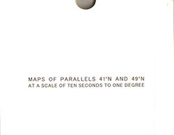 Mirra, Helen / Ernst Karel: A Map Of Parallels 41-N And 49-N At A Scale Of Ten Seconds To One Degree