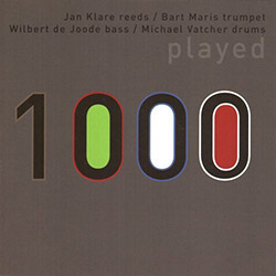 1000 (Klare, Jan / Wilbert de Joode / Michael Vatcher / Bart Maris): Played <i>[Used Item]</i>