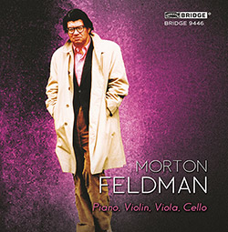 Feldman, Morton: Piano, Violin, Viola, Cello  <i>[Used Item]</i>