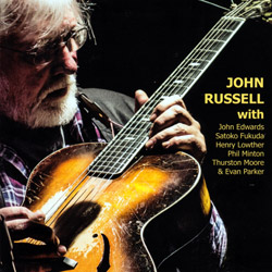 Russell, John (with Phil Minton, Thurston Moore, Evan Parker, &c.): With... (Emanem)
