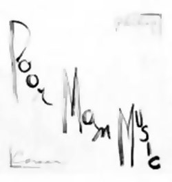Corner, Philip: PoorManMusic [VINYL]