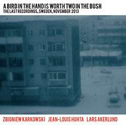 Karkowski, Zbigniew / Jean-Louis Huhta / Lars Akerlund: A Bird in the Hand Is Worth Two in the Bush: (Sub Rosa)