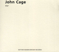 Cage, John: One9 (Edition Wandelweiser Records)