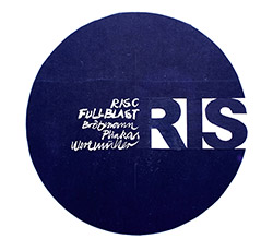 Full Blast (Brotzmann / Pliakas / Wertmuller): Risc [VINYL 2 LPs] (Trost Records)
