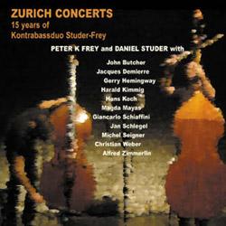 Frey, Peter K. / Daniel Studer: Zurich Concerts: 15 Years of Kontrabassduo Studer-Frey [2 CDs]