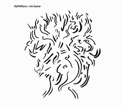 Kid Millions & Jim Sauter: Million Dollar Band / Bull Run [VINYL 7-inch] (Feeding Tube Records)