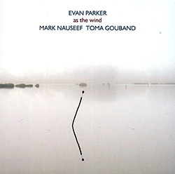 Parker, Evan / Mark Nauseef / Toma Gouband : As The Wind (psi)