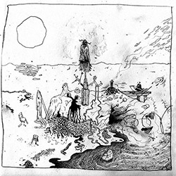 Mendoza, Ava / Maxime Petit / Will Guthrie: [7-inch VINYL] (BeCoq)