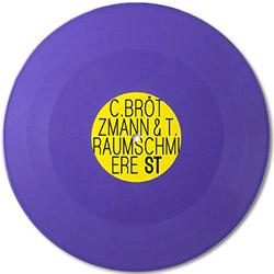 Brotzmann, Caspar & T. Raumschmiere: [10-inch VINYL RECORD STORE DAY RELEASE]