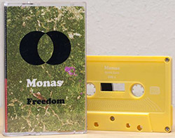Monas (Fisher / DeBlase / Millions): Freedom [CASSETTE + DOWNLOAD] (Astral Spirits)