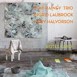 Rainey, Tom Trio (w/ Laubrock / Halvorson): Hotel Grief (Intakt)