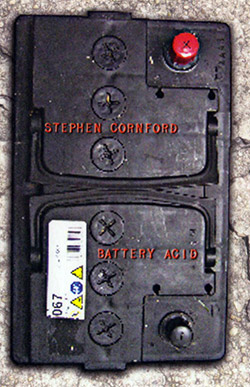 Cornford, Stephen : Battery Acid [CASSETTE] (Banned Productions)