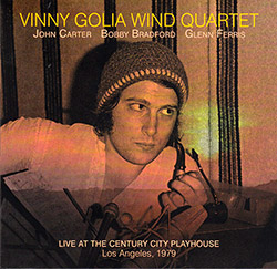 Golia, Vinny Wind Quartet: Live At The Century City Playhouse (Dark Tree Records)