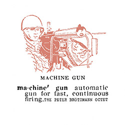 Brotzmann, Peter The Octet  : Machine Gun [VINYL]