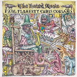 Flaherty, Paul / Chris Corsano: The Hated Music [VINYL 2 LPs] (Feeding Tube Records)