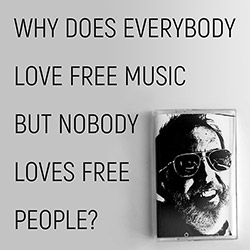 Orcutt, Bill: Why Does Everybody Love Free Music But Nobody Loves Free People? [VINYL 2 LPs] (Palilalia)