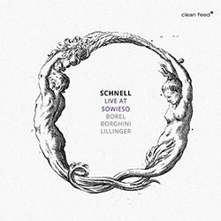 Schnell (Borel / Borghini / Lillinger): Live At Sowieso (Clean Feed)