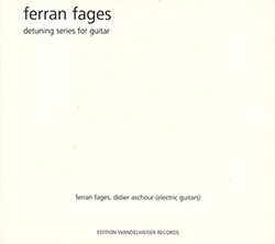 Fages, Ferran : Detuning Series For Guitar