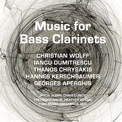 Hodgkinson / Alder / Cundy / Silver / Roche / Duo / Chrysakis: Music for Bass Clarinets (Aural Terrains)