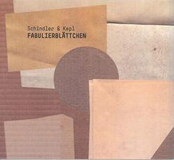 Schindler / Kepl: Fabulierblattchen