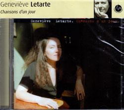 Letarte, Genevieve: Chansons d'un jour