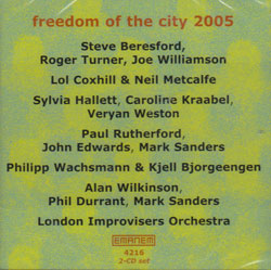 Various Artists: Freedom of the City Festival 2005 [2 CDs] (Emanem)