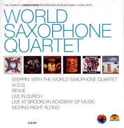 World Saxophone Quartet: The Complete Remastered Recordings [6 CDs] (Black Saint/Soul Note)