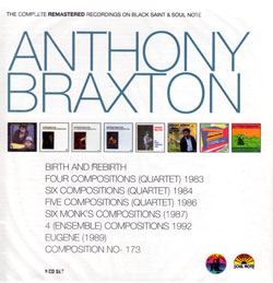 Braxton, Anthony: The Complete Remastered Recordings [8 CD BOX SET]