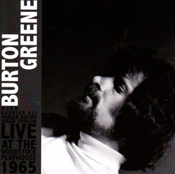 Greene, Burton: Live at the Woodstock Playhouse 1965 <i>[Used Item]</i>