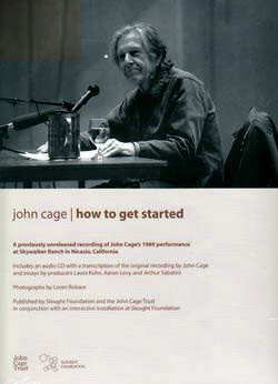 Cage, John: How To Get Started [CD]