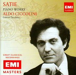 Satie, Erik: Piano Works (Aldo Ciccolini) <i>[Used Item]</i> (EMI)