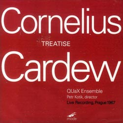 Cornelius Cardew: Treatise (Mode Records)