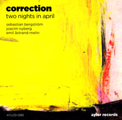 Correction: Two Nights in April (Ayler)