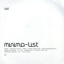Various Artists: Minima~list <i>[Used Item]</i>