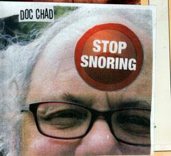 Chadbourne, Eugene: Stop Snoring (Chadula)