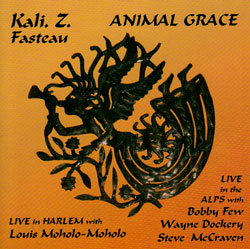 Fasteau, Kali: Animal Grace: Live in Harlem with Louis Moholo-Moholo (Flying Note)