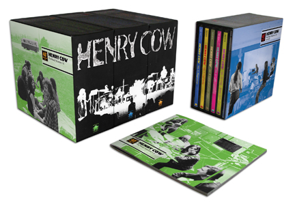 Henry Cow: Box 3 - The Studio Volumes 1-5 (Recommended Records)