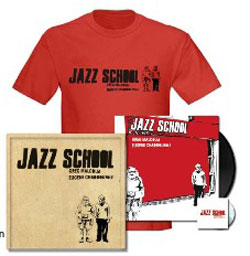 Chadbourne, Eugene & Greg Malcolm : Jazz School [VINYL deluxe edition] (Monotype)