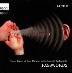 Kaiser, Henry & Paul Plimley with Danielle DeGruttola: Passwords