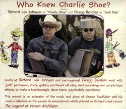 Johnson, Richard Leo / Gregg Bendian: Who Knew Charlie Shoe? (Cuneiform)