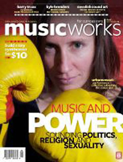 MusicWorks: #108 Winter 2010 [MAGAZINE + CD] (Musicworks)