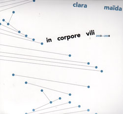 Clara Maida: In Corpore Vili 2003-2008 (Edition Rz)