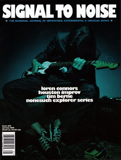 Signal to Noise: Issue #63, Spring 2012