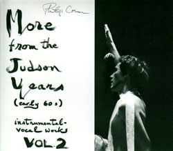 Corner, Philip: More from the Judson Years, Instrumental-vocal Works (Volume 2) (Alga Marghen)