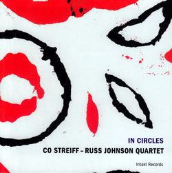 Streiff-Russ Johnson Quartet, Co: In Circles (Intakt)