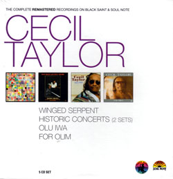 Taylor, Cecil: The Complete Remastered Recordings [5 CD BOX] (Black Saint/Soul Note)