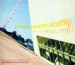 Variable Geometry Orchestra: live at the casa da musica, porto (Creative Sources)